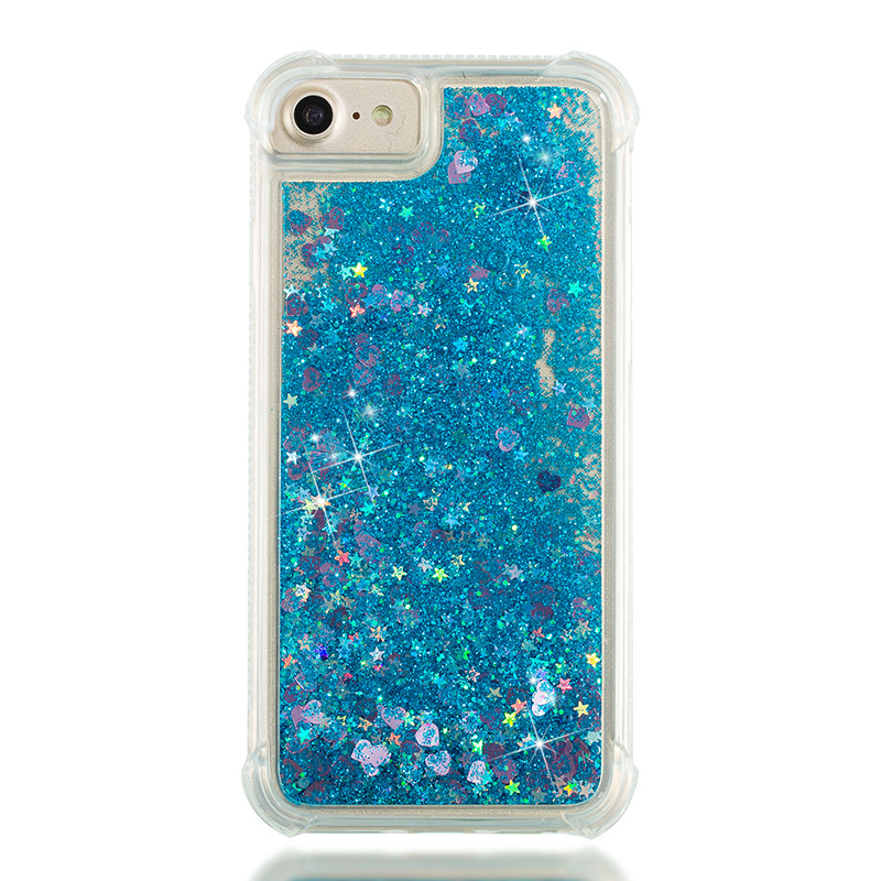 Easterm 2018 Hot Products Love Glitter Quicksand Phone Case For iPhoneX