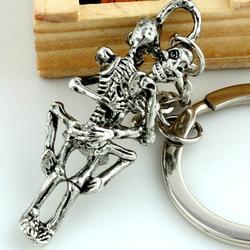 Porte-clés SPINNER à la mode pour toujours amour mort, Punk, accessoire cadeau