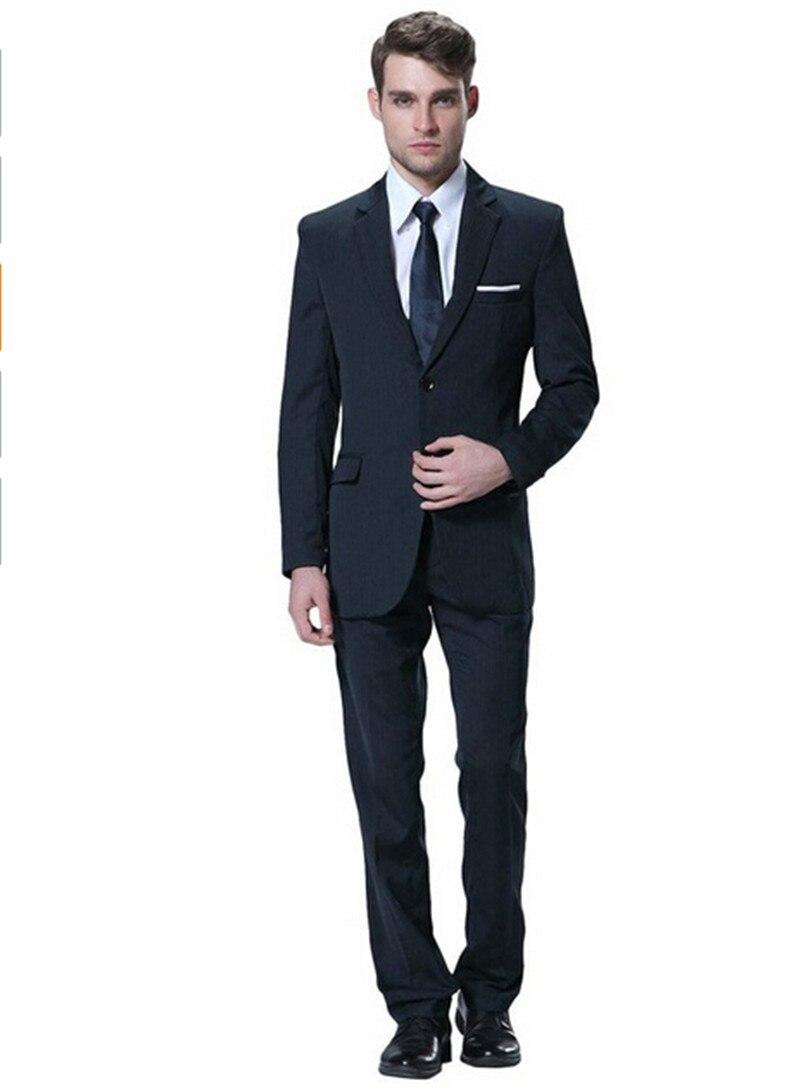 Men's three Pieces suit Formal Business Tuxedo mens Suit for ...