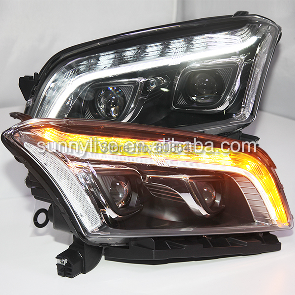 for CHEVROLET Trax Head Lamp Black Housing 2013-2014 Year PW