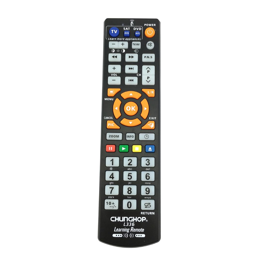 CHUNGHOP L336 Copy Smart Remote Control Controller With Learn Function For TV CBL DVD SAT learning