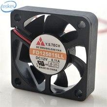FD125015LL Ultra Silencioso Ventilador de Refrigeração DC 12 V 0.11A 5015 5 CM 50*50*15mm 2 Fios