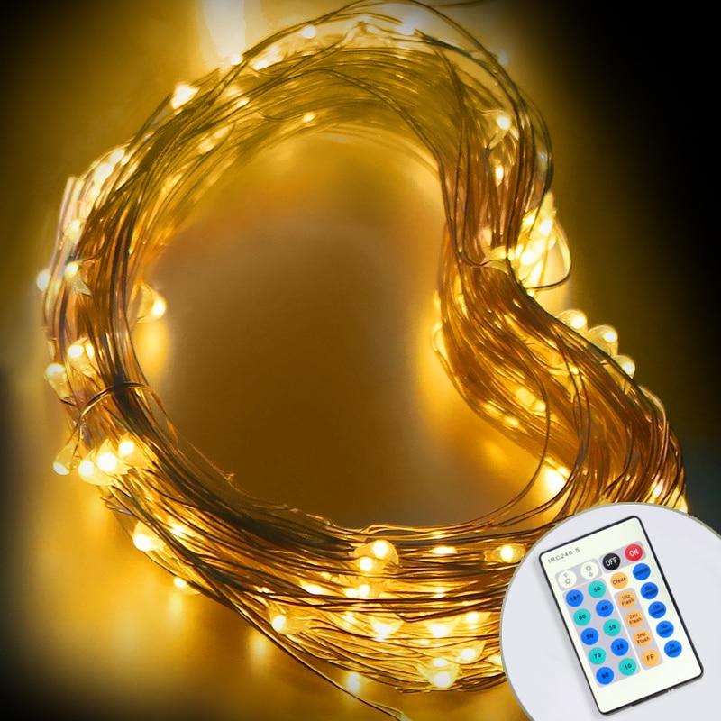 Ny LED String Light Utendørs Høy Bright Holiday Party Lighting 10M - Ferie belysning - Bilde 1