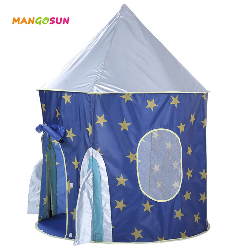 Boy Tent Toy : New teepee tent prince boy castle toys starry