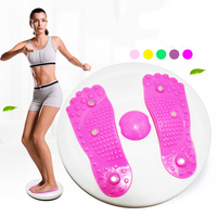 Fitness Waist Twist Boards Exercise Massage Twister Plate Magnet Plate Twist Disk Slimming Legs Fitness Equipment ZF7 0402