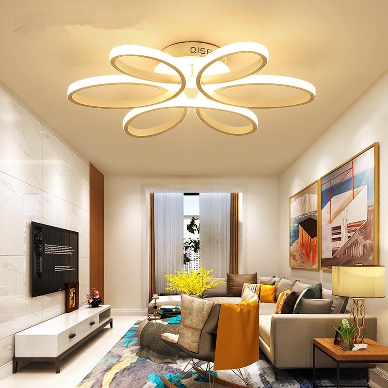New design modern led ceiling light for living room bedroom dining room aluminum body Indoor home ceiling lamp lighting fixtures цена