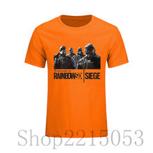 7069549b9 Rainbow Six Siege tshirt Tom Clancy Print Original Design Fashion Style mens  t shirts fashion 208 Cotton T-shirt christmas ajax