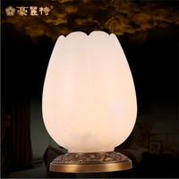 Modern Glass Table Lamps Nordic Simple Bedroom Bedside Reading Desk Lamp Home Decoration LED Table Lights E27 Lamparas Lighting