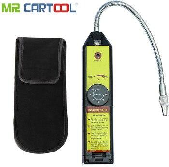 Mr Cartool Refrigerant Freon Leak Detector for HFC CFC Halogen R134a R410a R22a R600a R290 Air Condition HVAC