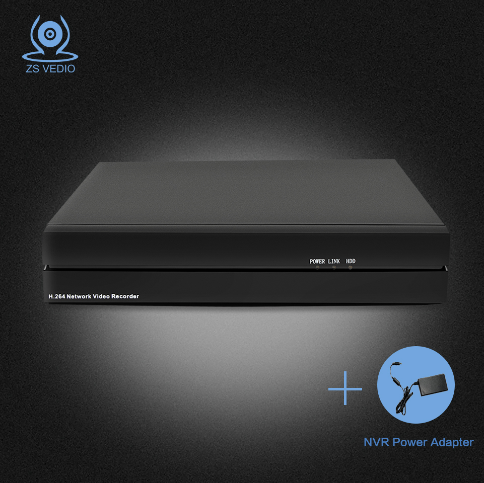ZSVEDIO NVR 8CH 1080P ONVIF H 264 Wifi FTP Network Security Video Recorder Support CCTV IP