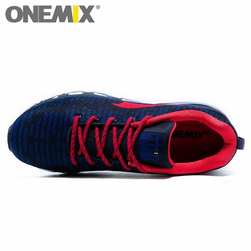 ONEMIX мужские спортивные кроссовки для женщин Музыка Ритм кроссовки дышащая сетка Открытый Спортивная обувь Freerun для мужчин - 2