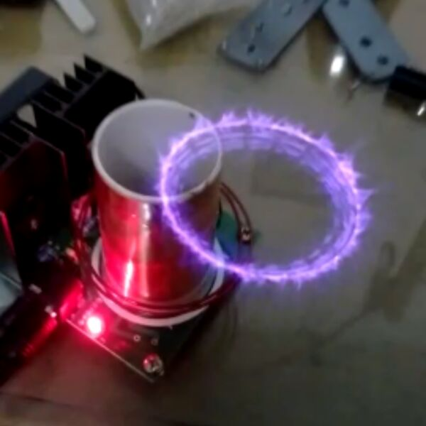 Mini music tesla coil plasma horn scientific experimental science mini music tesla coil plasma horn scientific experimental science and technology electronic do it yourself gadget invention in counters from tools on solutioingenieria Images