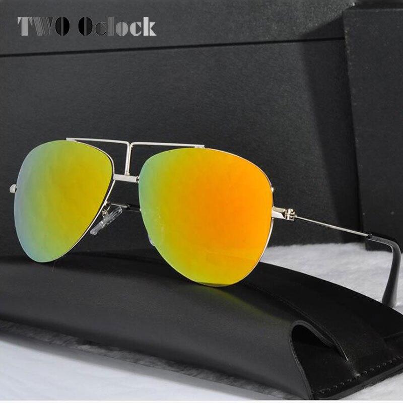 914072d8c عالية الجودة UV400 الاطفال البيضاوي إطار النظارات الشمسية الفتيان الطفلة  الطيار طلاء نظارات شمسية الرضع الأطفال مرآة مكبرة j2
