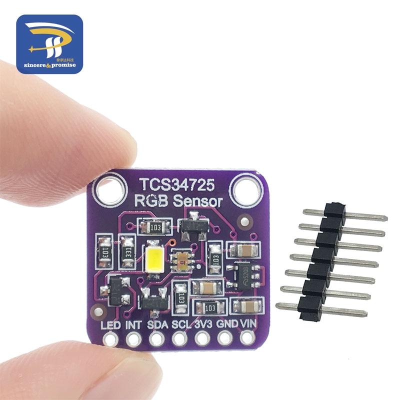 CJMCU-34725 TCS34725 Color Sensor RGB color sensor development board module networking cables
