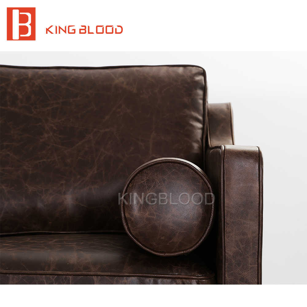 Buy modern italian leather sofa set model with pictures from china