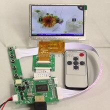 Entrada HDMI tarjeta del controlador LCD + lcd de 4.3 pulgadas 480*272 AT043TN24 HSD043IDW1 lcd + control de Remotel