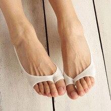 2016 Новые Моды для Женщин Summer Короткие Toeless Носки Идеально Подходит Для Туфли на Высоком каблуке Обувь Белого Цвета