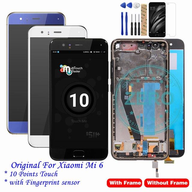 a8969b4a624 Original para Xiao mi mi Display LCD Touchscreen + 10 6 Pontos de Toque +  Sensor