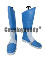 Cute High Earth Defense Club Love En Yufuin Halloween Long Cosplay Shoes Boots H016