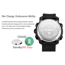 LEMFO LF19 Smart Watch Waterproof Sports Pedometer Alarm Reminder for IOS Android Phone