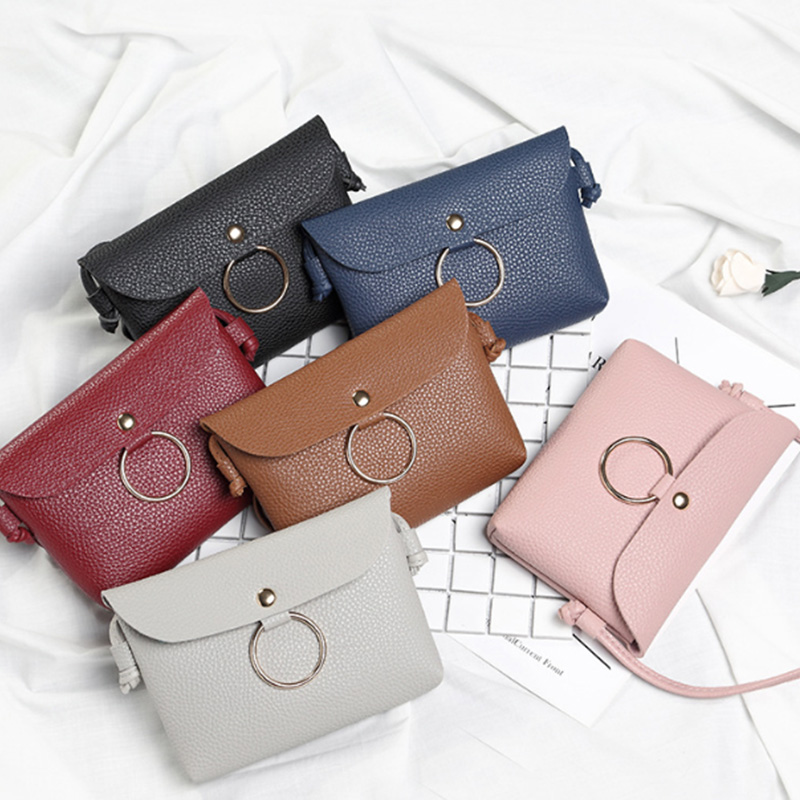 Vbiger Women and Girls Handbags Summer and Autumn Leisure New Lychee Pattern Shoulder Bag Six Color Crossbody Bags High Quality цена