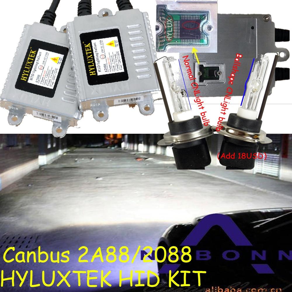 HYLUXTEK HID KIT,Canbus 2A888/2088,XENON kit,35W 12V,Canbus kit,Free ship!CNLight Bulb,H1 H3 H7 880 881 9005 9006,H11,4300~8000K gztophid gztophid car light kit f3t fast bright ac 35w digital hid ballast cnlight xenon ball bulb h1 h4 h3 h7 h9 h11 9005 9006