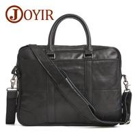 JOYIR Designer Briefcases Genuine Leather Handbag Business Men Bags Laptop Tote Crossbody Bags Shoulder Men S