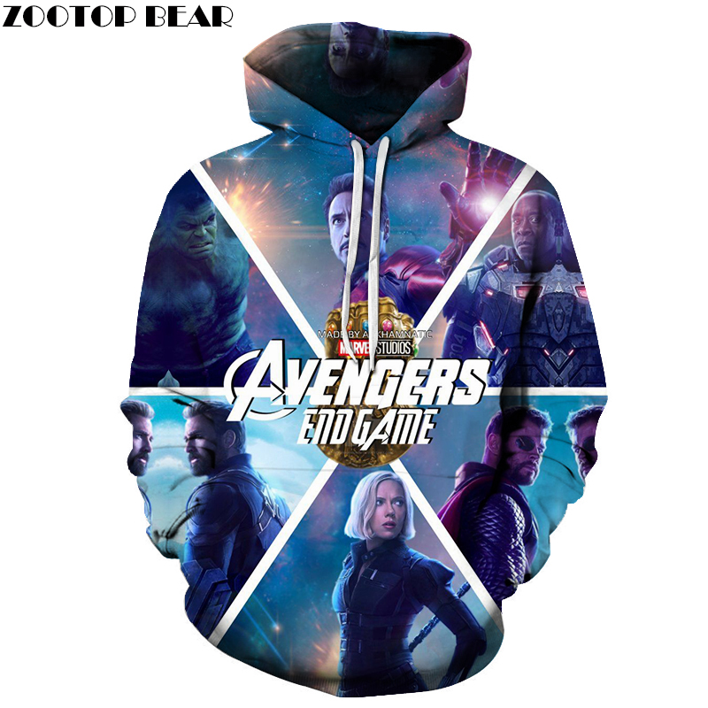 Avengers Endgame 3D Printed Males Pullover Sweatshirt Clothes for Males Customized Pullover Hoodie Vogue Informal Hoodies ZOOTOP BEAR Aliexpress, Aliexpress.com, On-line procuring, Automotive, Telephones & Equipment, Computer systems &...