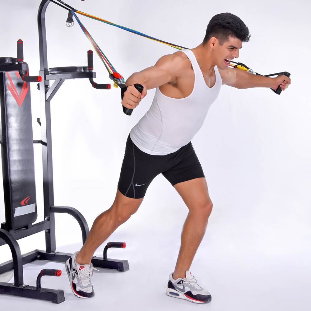 silite fitness equipment pull rope resistance bands crossfit