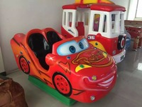 Hot Sales FRP Kiddie Ride On Toy Cars Coin Operated Kiddie Ride Coin Swing Riders For