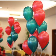 20 50 pcs/lot 12 2.8g mix Colorful Pearl Gold red Latex Balloon Christmas Wedding Decorations Happy Birthday Party Supplies