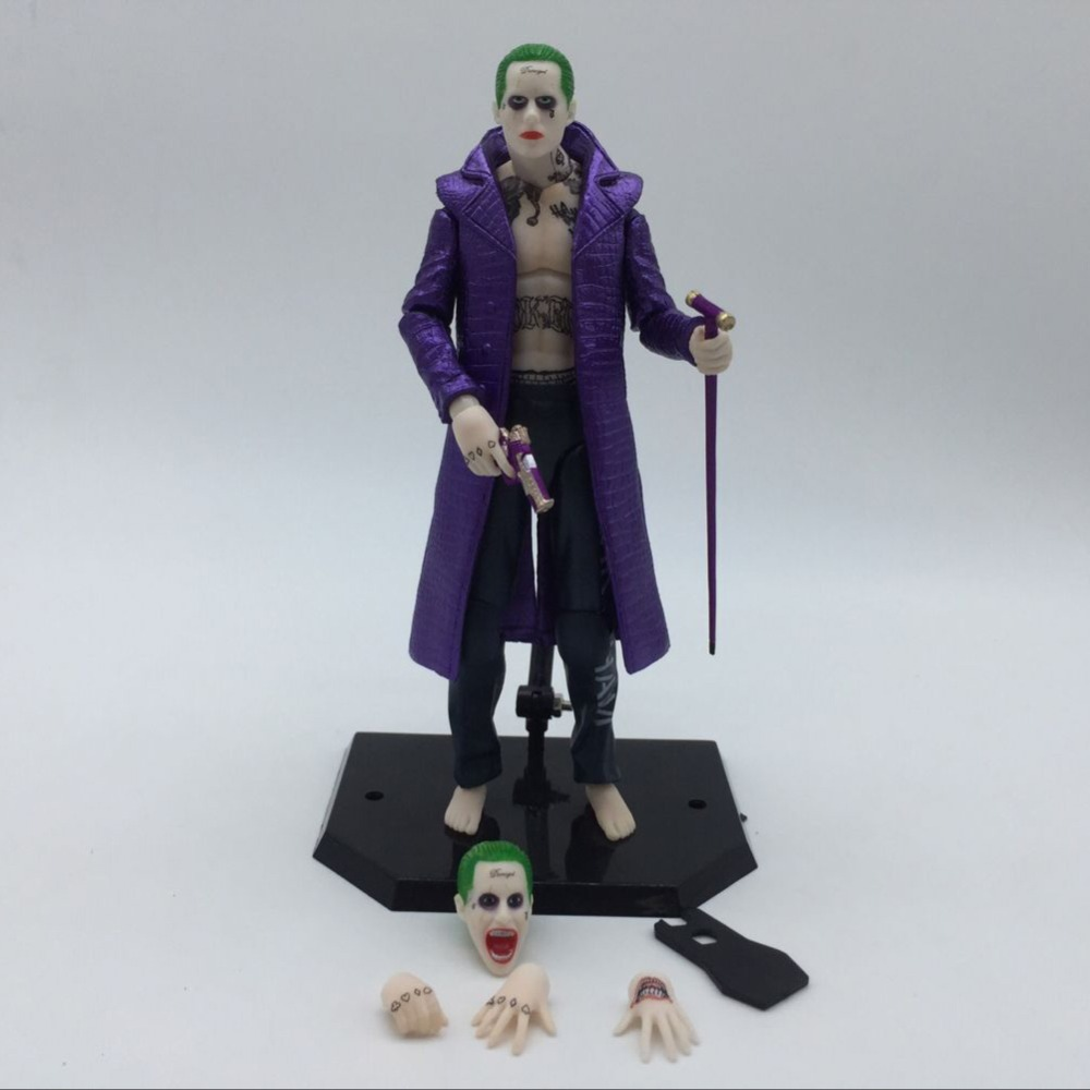 IN STOCK uicide Squad Harley Quinn The Joker With Screwdriver AND Bracket PVC Action Figure Model Toy 16cm neca dc comics batman harley quinn pvc action figure collectible model toy 16cm