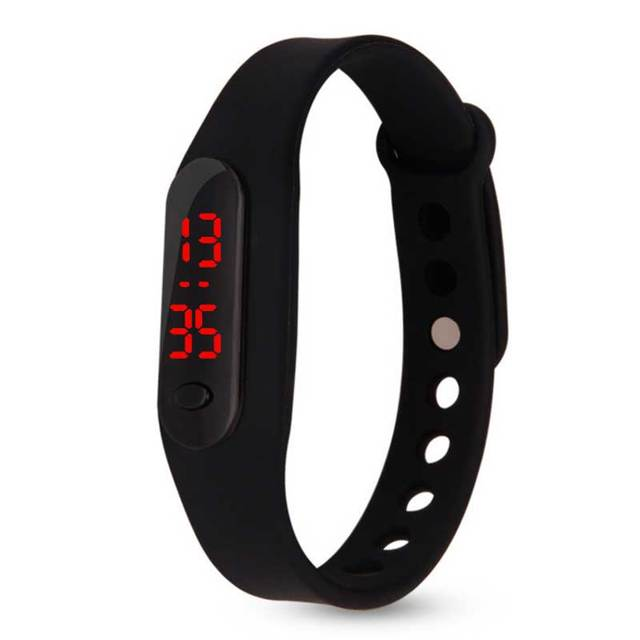 High quality Cheap Children Digital Watch Color Boy girl Sports Rubber LED kids
