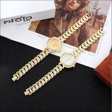 Classic luxury fashion diamond lady quartz joker preferred party dress ladies watch  relogio feminino  gold watch  watch women comtex syl149042 lady watch fashion classic gold color sweet ladylike