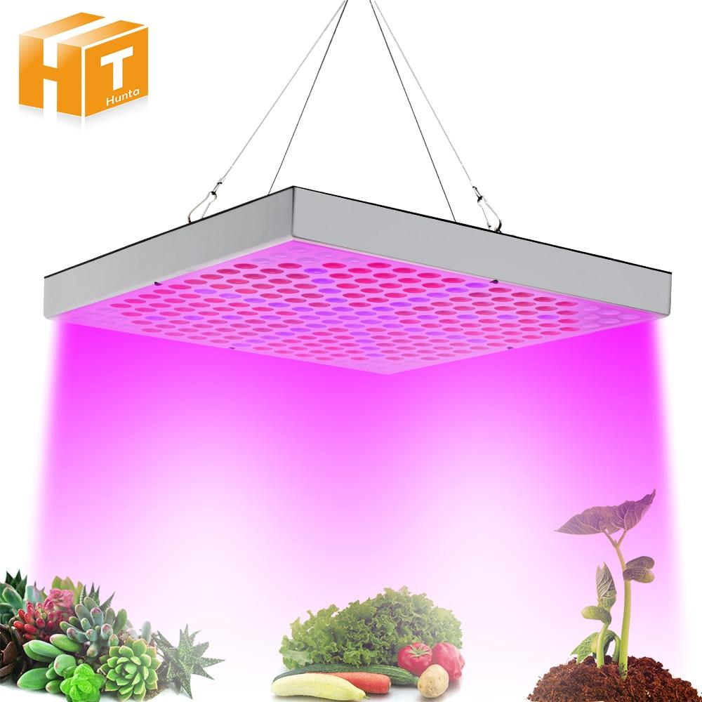 Светодио дный растут огни 45 Вт завод лампы AC85 ~ 265 В полный спектр светодио дный садовые растения гидропоника цветок Панель растут