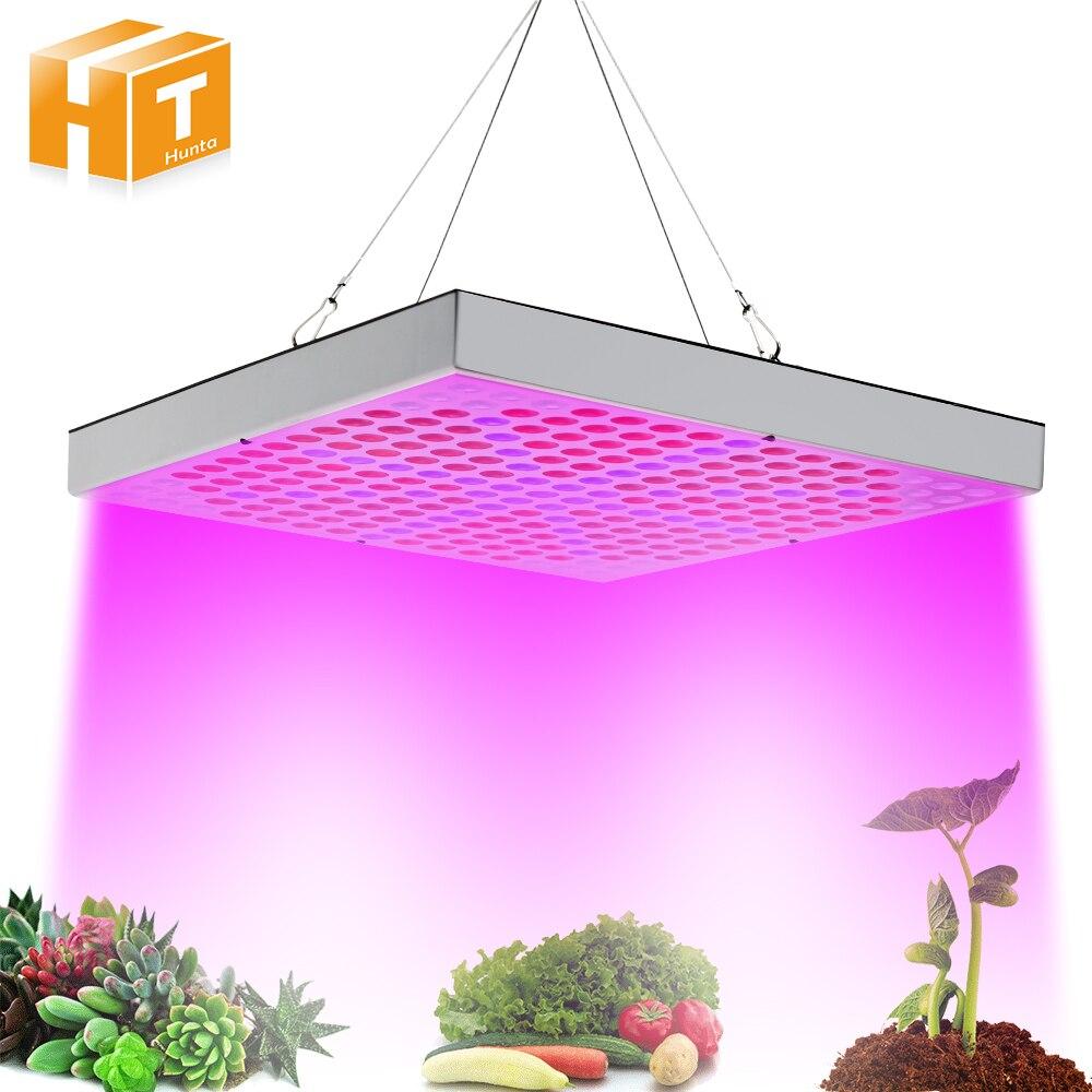 LED Grow Lights 45W Plant Lamp AC85~265V Full Spectrum LED Greenhouse Plants Hydroponics Flower Panel Grow Lights