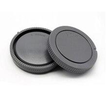 50 çift/grup kamera gövde kapağı + arka Lens kapağı Sony NEX için NEX 3 e montaj