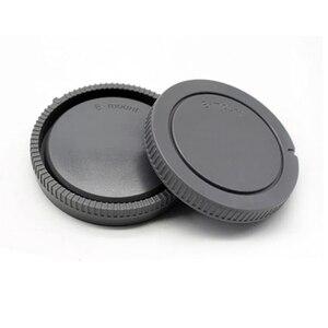 Image 1 - 50 짝/몫 카메라 바디 캡 + 소니 nex NEX 3 e 마운트 용 후면 렌즈 캡
