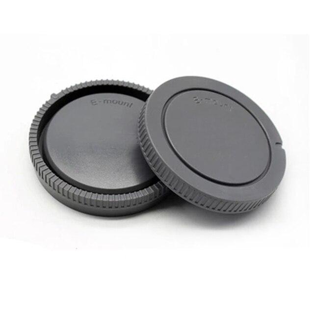 50 짝/몫 카메라 바디 캡 + 소니 nex NEX 3 e 마운트 용 후면 렌즈 캡