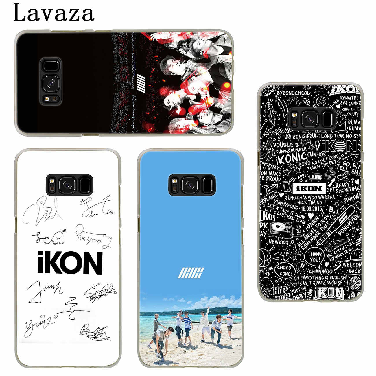Lavaza ikon kpop music Hard Phone Case for Samsung Galaxy S10 S10E S8 Plus  S6 S7 Edge S9 Plus Cover