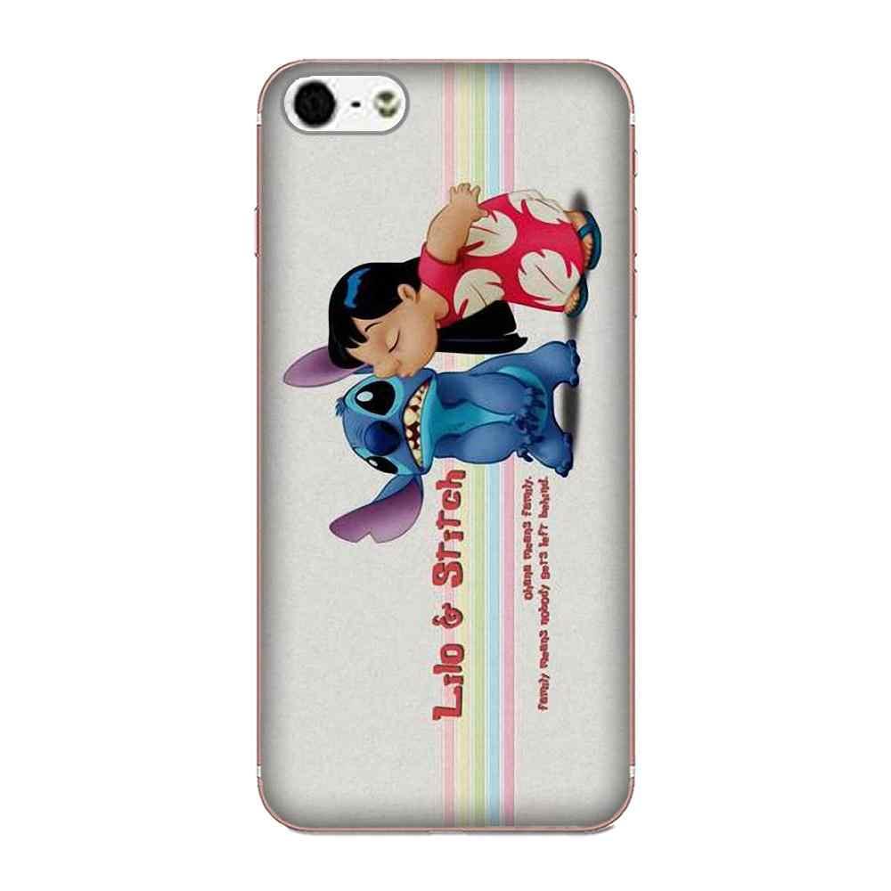 Pour Huawei Honor 4C 5A 5C 5X6 6C 6A 6X7 7X8 9 V8 V10 Y3II Y5II Y6II G8 P7 Lite Portable TPU housse de téléphone Et Stich
