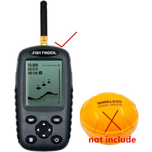 Wi-fi Fish Finder Russian English Menu  125kHz Sensor Sonar Echo Sounder Waterproof Fishfinder ffw718 upgraded model