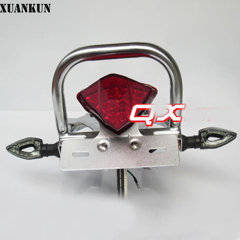 XUANKUN Monkey Bike Motorcycle Modified Parts After The Shelves Tail Lighthouse Turn Lights License Plate игрушка baby born кукла доктор интерактивная 43 см кор baby born