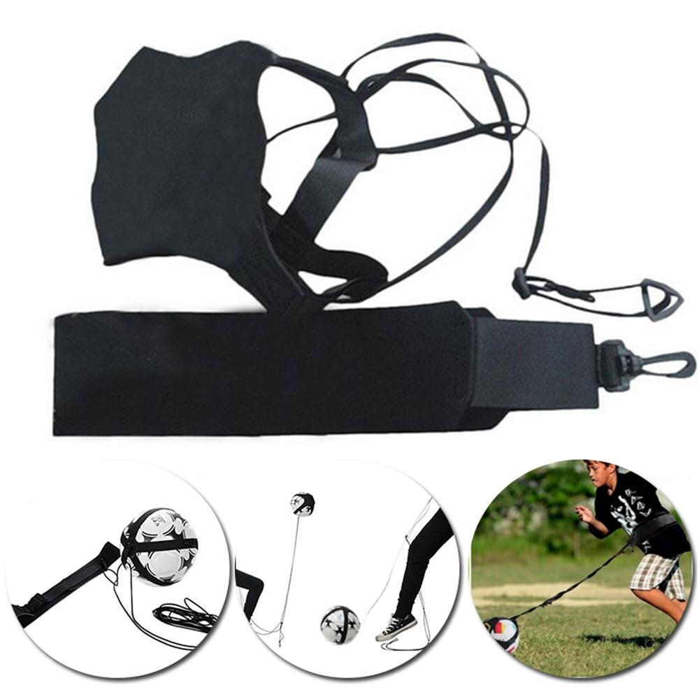 Football Kick Solo Trainer Belt Waist Belt Control Skills Soccer Practice Training Aid Equipment Adjustable