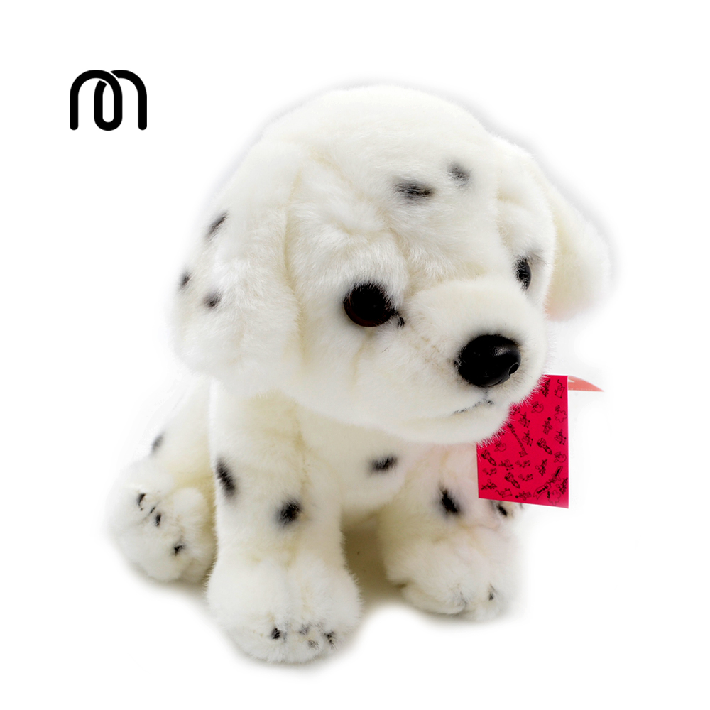 Millffy Kids Preferred Spotted Dog Plush Stuffed Animal White Black
