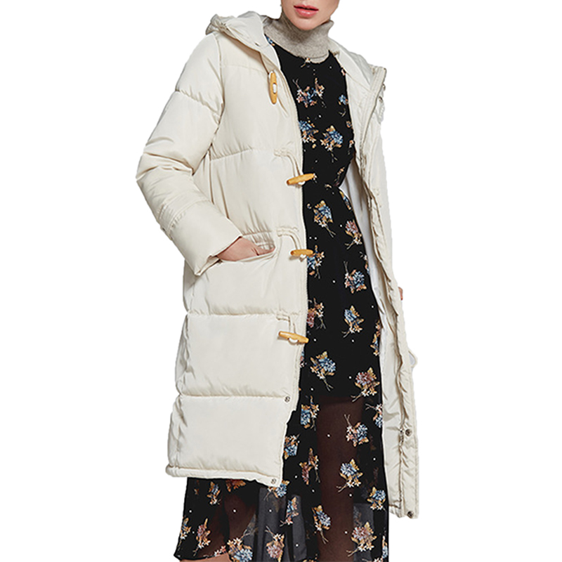 womens winter jackets coats 2018 new more color Fashion print winter parka women long Hooded Thick Warm Cotton Padded Coat 167