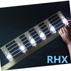 Image 2 - 20PCS   LED backlight bar strip for KONKA KDL48JT618A/KDL48SS618U 35018539 6 LEDS(6V)   442MM   100%NEW