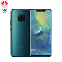 HUAWEI Mate 20 Pro Global Version Optional Mobile Phone Full Screen Waterproof IP68 40MP 4 Cameras Kirin980 Quick charger 10V/4A