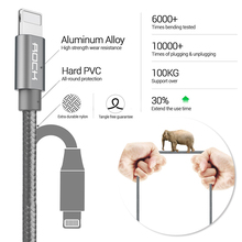 ROCK Micro USB Cables 3in1 USB Type C Cable for iPhone and Android