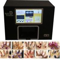 Настоящее ногти принтер машины с компьютером внутри дизайн ногтей инструмент ногти живопись